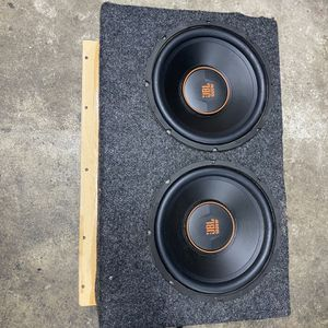 "12"" Ported Subwoofer Enclosure for Sale in Orange, CA"