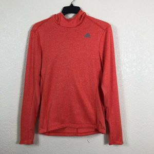 Adidas Climalite - Orange - Women - Hoodie - Sweater - Sport Top - Size: M for Sale in Fort Lauderdale, FL