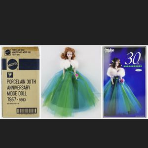 Barbie 30th Anniversary Porcelain Midge for Sale in Fresno, CA