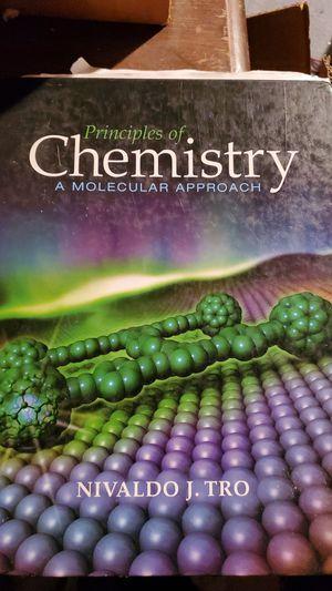 Principles of Chemistry - A Molecular Approach by Nivaldo J. Tro for Sale in Oak Glen, CA