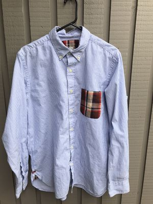 Bape button up oxford for Sale in Seattle, WA