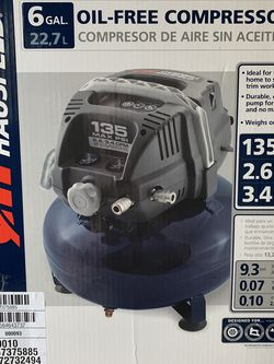 NEW Campbell Hausfeld 6 Gallon Pancake Air Compressor for Sale in Severna Park,  MD