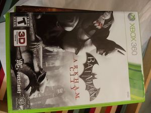Free -> Xbox 360 - (1) Batman dark arkam - hero - action -game /toy/character / for Sale in Naples, FL