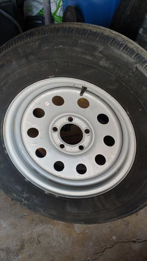 Trailer wheel tire rim spair for Sale in North Highlands, CA