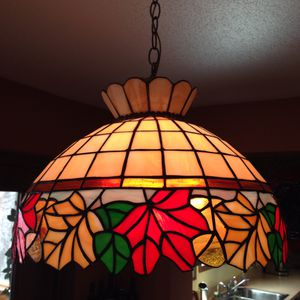 Stained glass ceiling light for Sale in Apple Valley, MN