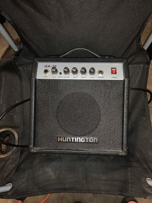 Huntington Acoustic guitar amplifier for Sale in New Boston, MI