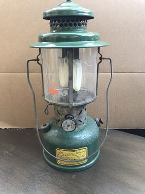 Vintage June 1953 Coleman Model 220E Sunshine of the Night Lantern Sunrise Globe for Sale in Brea, CA