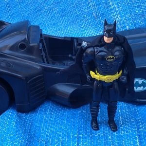 1989 Batman Action Figure & Batmobile Lot ToyBiz Vintage DC for Sale in Pasadena, CA