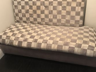 Day Bed & Futon , on Platform with 2 Huge Cushions . Like New! for Sale in Lynnfield,  MA