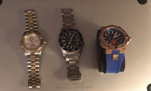 TAG HEUER - BULOVA - VINCE CAMUTO MENS WATCHES FOR SALE. PRICE NEGOTIABLE. for Sale in Leesburg, VA