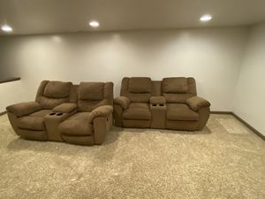 Reclining love seats for Sale in Webster Groves, MO