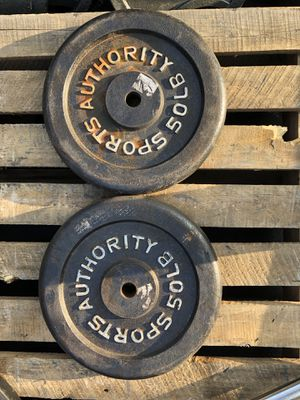 Standard 1 inch weight plates.50 pounds each... $125 OBO for Sale in Glendale, AZ