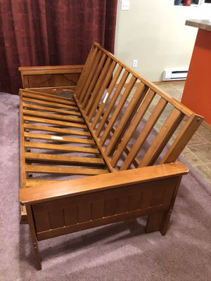 Solid wood Sofa & Bed frame for Sale in Redmond, WA