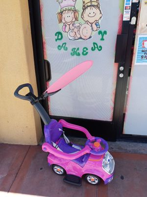 Space pink Push on car for babys for Sale in Long Beach, CA