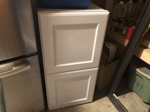 Kitchen cabinet turned wrong way goes over a refrigerator 60 for Sale in St. Peters, MO