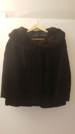 Woman's Fancy Jacet in Black size L for Sale in Alexandria, VA
