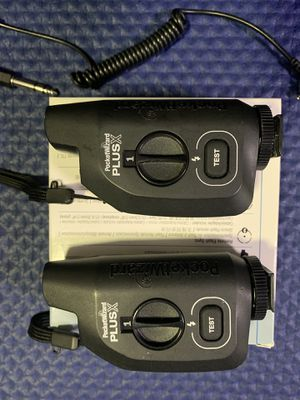 Pocket Wizard plus X transceiver 2 pack for Sale in Lakewood, CO