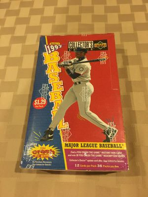 1997 Upper Deck Collectors Choice Sealed Baseball Card Box for Sale in Canonsburg, PA