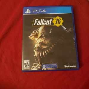 Fallout76 Ps4 for Sale in Fort Lauderdale, FL