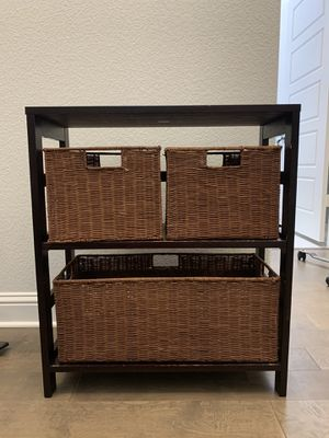 "Small 3 pc shelf set height 29"" length 25"" width 11"" for Sale in Midlothian, TX"