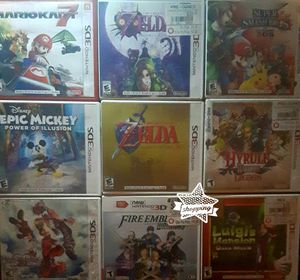 Nintendo 3ds games & Classic GameBoy Color for Sale in Federal Way, WA