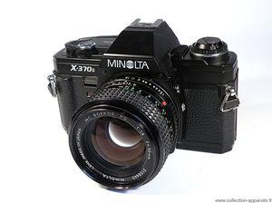 Vintage Minolta SLR Film Camera (X-370s) for Sale in Bowie, MD