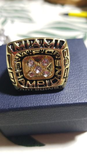 Miami Dolphins Dan Marino NFL Championship ring for Sale in Phenix City, AL