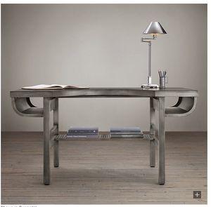 Restoration Hardware - French Factory Metal Desk for Sale in Washington, DC