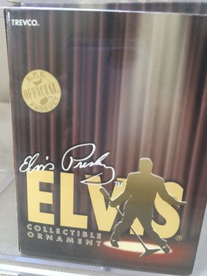 Elvis Presley collectible ornament and glasses for Sale in Duarte, CA