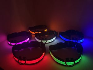 LED Dog Collars 🐶 (flashing lights) S, M , L, XL for Sale in Palm Springs, CA