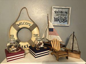 Nautical decor rustic decor farmhouse decor staging decor for Sale in Katy, TX