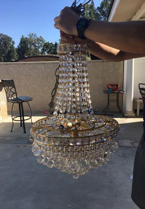 Crystal chandelier for Sale in Yorba Linda, CA