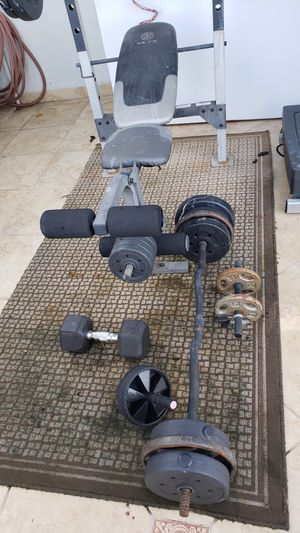 Home gym set for Sale in Hialeah, FL