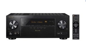 Pioneer - Elite 7.2-Ch. Hi-Res 4K Ultra HD HDR Compatible A/V Home Theater Receiver - Black for Sale in North Potomac, MD