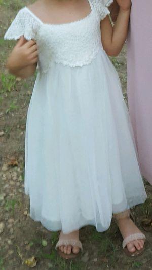 Boho Flower Girl Dress for Wedding for Sale in Elizabethton, TN