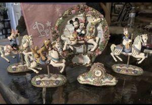 Disney's porcelain collection set $140 OBO for Sale in Ceres, CA