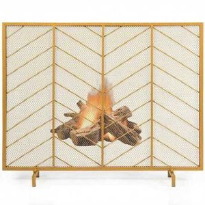 """31''x31"""" Single Panel Fireplace Screen Spark Guard Fence for Sale in Rowland Heights, CA"""