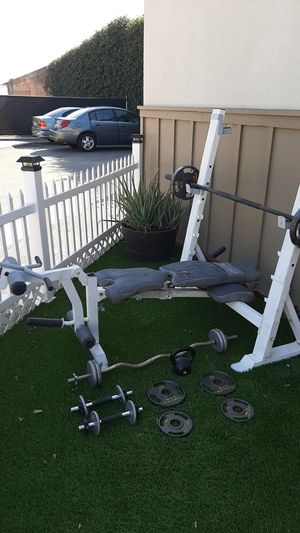 Workout setup for Sale in Anaheim, CA