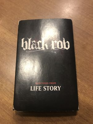 BLACK ROB SELECTION FROM LIFE STORY 1998 1999 CASSETTE TAPE PROMO BADBOY RECORDS NOTORIOUS BIG PUFF DADDY LOX RAP HIP HOP for Sale in Portland, ME