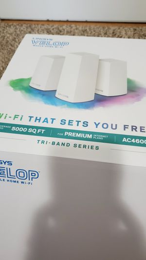 Linksys Velop tri band wifi router for Sale in Chelmsford, MA