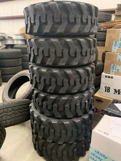 Bobcat Tires 10 16.5 (99$) And 12 16.5 (125$) for Sale in Austin,  TX