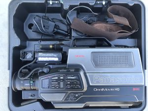 Panasonic OmniMovie PV-S350 VHS Video Camera Camcorder HQ, Vintage Camcorder for Sale in Lancaster, CA