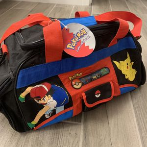 Pokémon Vintage Gotta Catch Em All Duffel Bag for Sale in Tempe, AZ