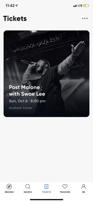 Post Malone tickets 2 for Sale in Buffalo, NY