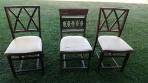 3 Antique chair for Sale in Hacienda Heights, CA