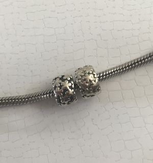 Authentic Pandora Flower Clips for Sale in Rockville, MD
