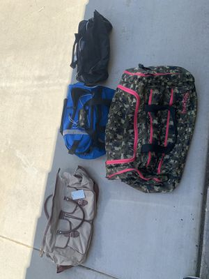 Duffle bags for Sale in Moreno Valley, CA