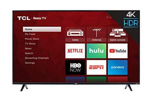 TCL 43S425 43 Inch 4K Ultra HD Smart Roku LED TV for Sale in Tamarac, FL