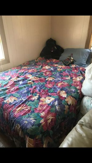 Full bed with frame for Sale in Charles City, IA