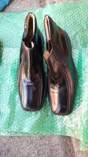 Stacy Adams Mens Vegas Black Slip On Ankle Boots for Sale in Norcross, GA
